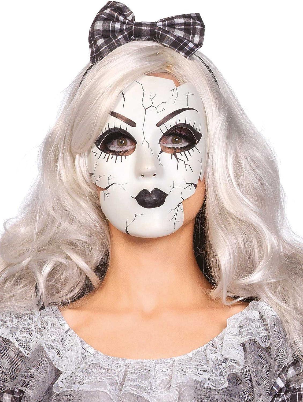 Leg Avenue Women's Doll Mask Costume Accessory