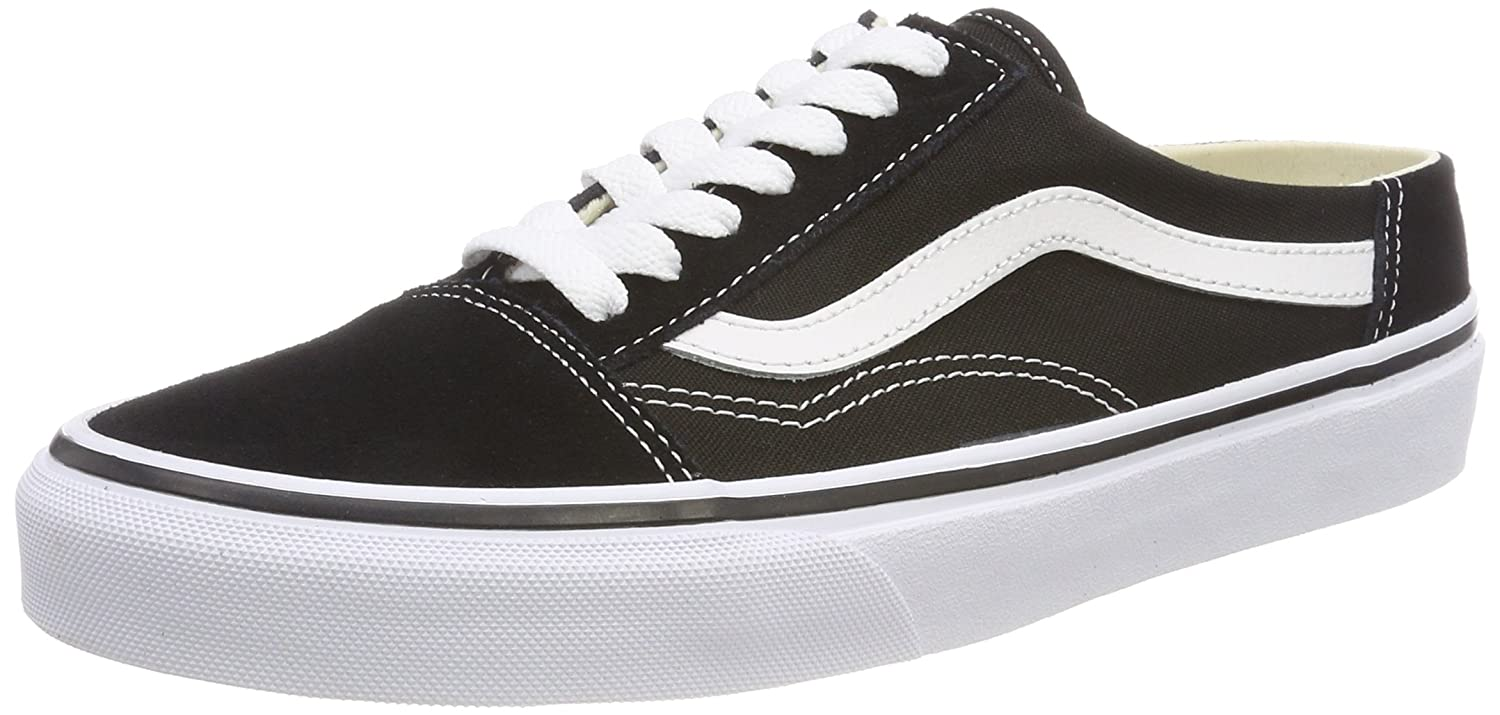 Vans Old Skool Mule, Zapatillas para Mujer 40 EU|Negro (Black/True White 6bt)
