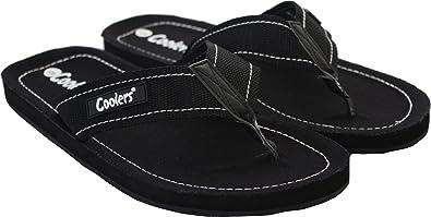 48d2dccb570b42 Mens Coolers Toe Post Flip Flop Beach Shoe Sandals Navy