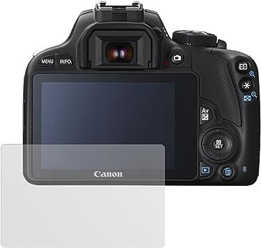 6x Protector Pantalla para Canon EOS 100D Pelicula Protectora Transparente