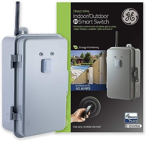 GE-Z-Wave-Plus-40-Amp-Indoor/Outdoor-Metal-Box-Smart-Switch