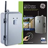 GE Z-Wave Plus 40-Amp Indoor/Outdoor Metal Box Smart Switch, Direct Wire, 120-277VAC, for Pools, Pumps, Patio Lights, AC…