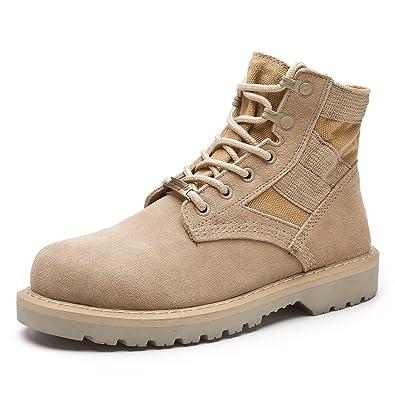 RoseG Leder Bootsschuhe High Top Desert Boots Cowboy Stiefel Für Damen Herren Size39 IlwPqNh