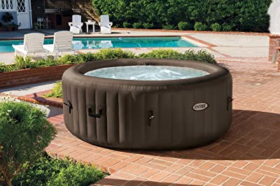 Intex Pure Spa 4-Person Inflatable Portable Heated Jet Massage Hot Tub
