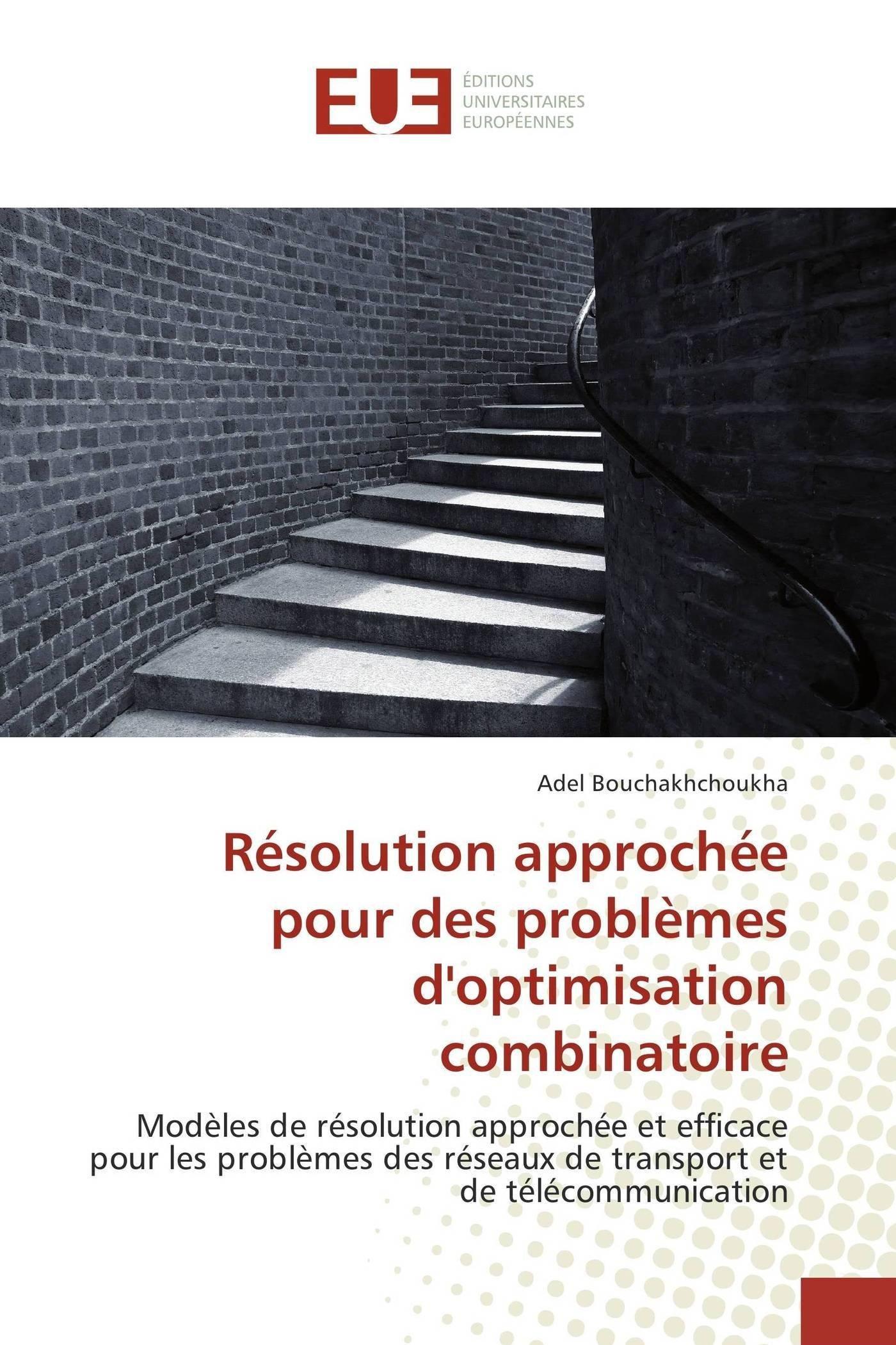 Download Résolution approchée pour des problèmes d'optimisation combinatoire: Modèles de résolution approchée et efficace pour les problèmes des réseaux de ... (Omn.Univ.Europ.) (French Edition) pdf epub