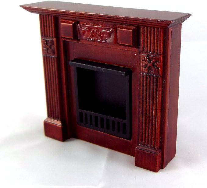 00478 Dolls House Mahogany Writing Box 1//12th Scale
