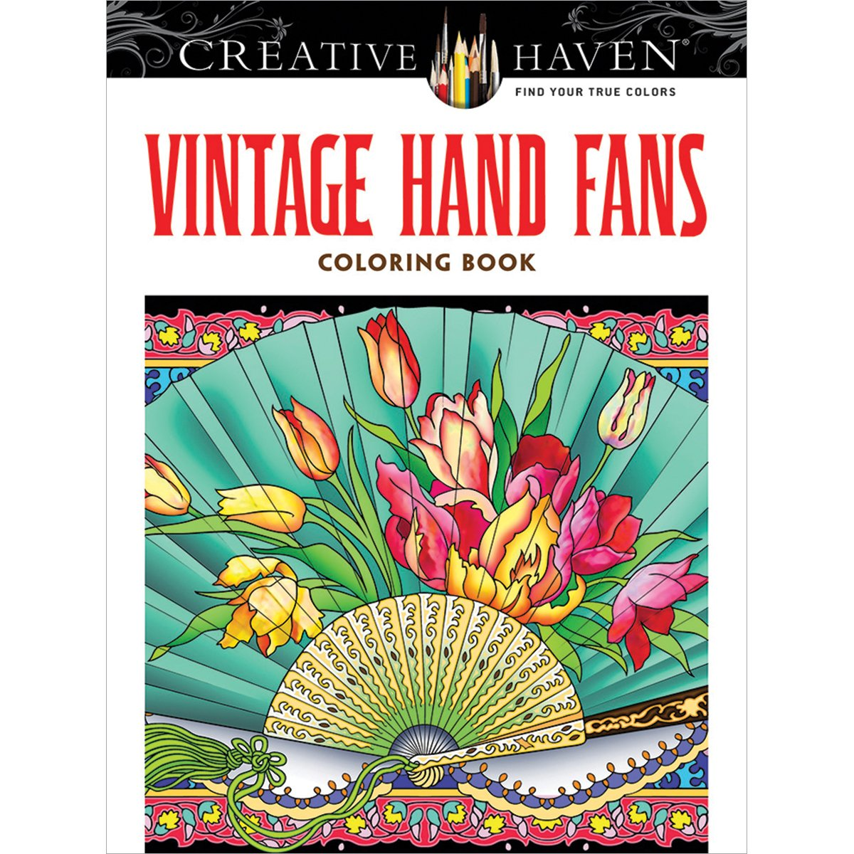 Dover Publications-Creative Haven Vintage Hand Fans
