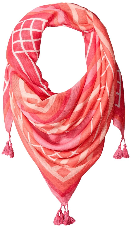 Vera Bradley ユニセックスアダルト Square Scarf B016R94DEG Pink Tonal Stripe One Size