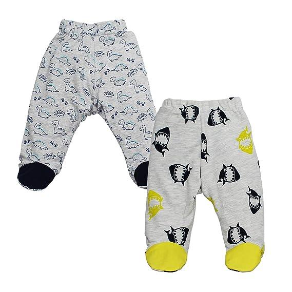 Kadambaby - Set of 2 100% Cotton Baby Pajama Pants for Everyday use (3