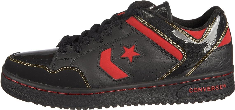 Converse Weapon 103519, Herren Fashion Sneaker, schwarzred