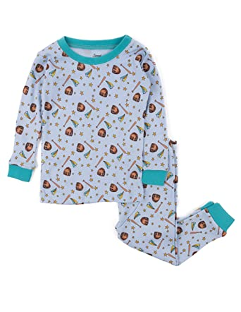 9c6a1aad5 Amazon.com  Leveret Overall Print Kids   Toddler Pajamas Boys Girls ...