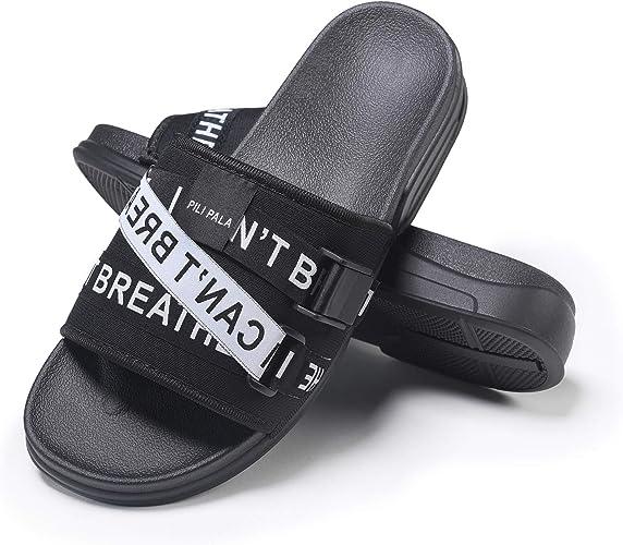 Pilipala Men's Athletic Sandals Slide