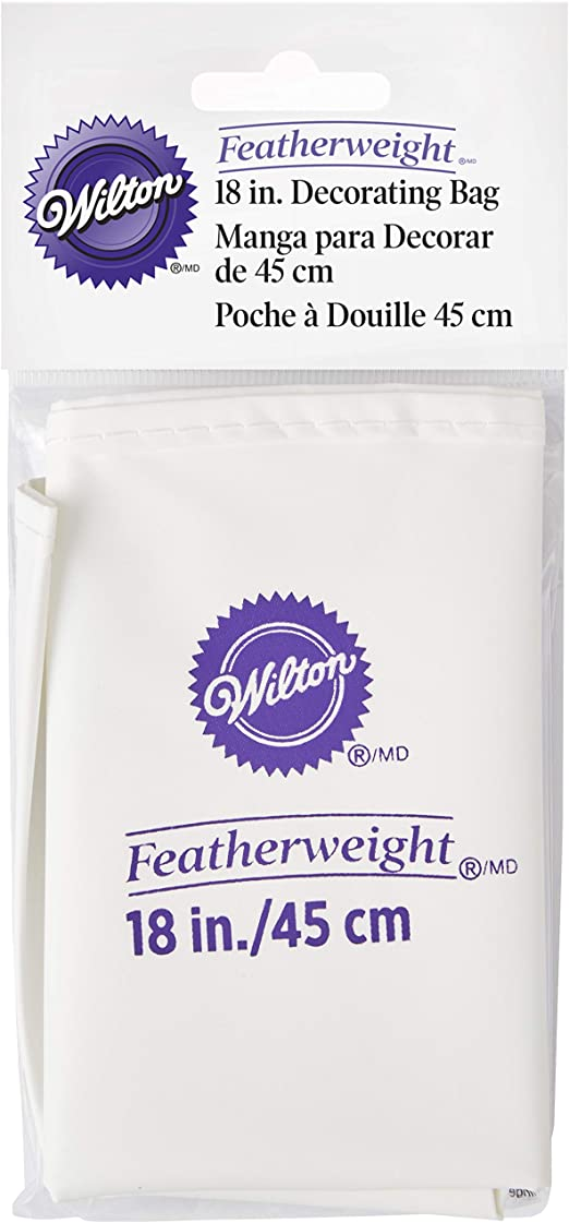 Wilton Featherweight Cake Decorating Bags Lot of 5 Size 10/""