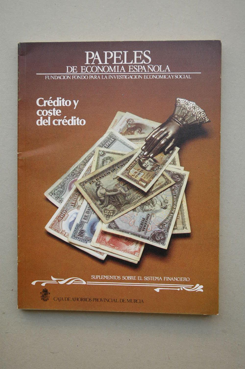 Crédito y coste de crédito / Fundación para la Investigación Económica y Social: Amazon.es: FUNDACIÓN PARA LA INVESTIGACIÓN ECONÓMICA Y SOCIAL: Libros