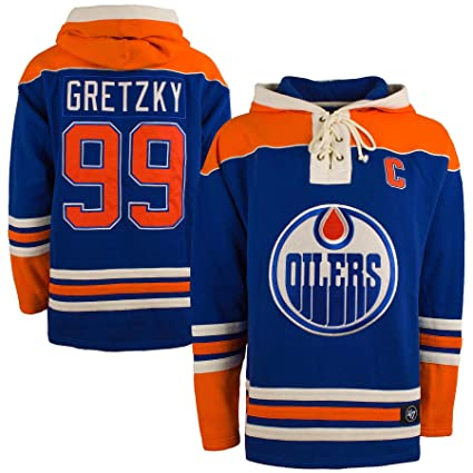 47 Edmonton Oilers Wayne Gretzky NHL Alumni Heavyweight Jersey Lacer  Hoodie - Medium 397347980