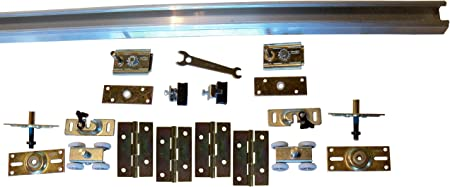 LE Johnson Products 1700606H 4 Door Bifold Hardware Set60 In.