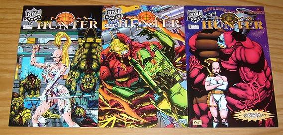 Nova Hunter V.1 #2 VF-NM Pat David Ryal Comics Oct 1994