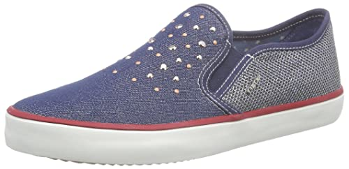 Geox Jr Kiwi Girl D, Alpargatas para Niñas: Amazon.es: Zapatos y complementos