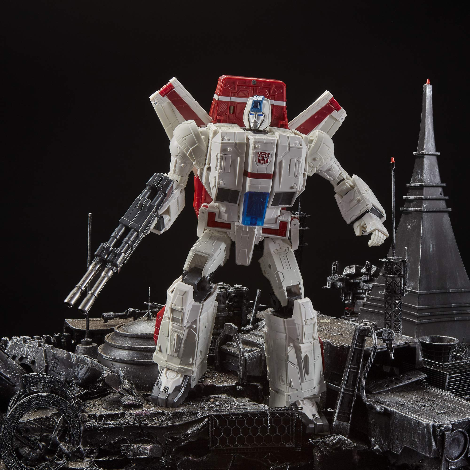 Transformers Toys Generations War for Cybertron Commander Wfc-S28 Jetfire Action Figure - Siege Chapter - Adults & Kids Ages 8 & Up, 11'' by Transformers (Image #10)