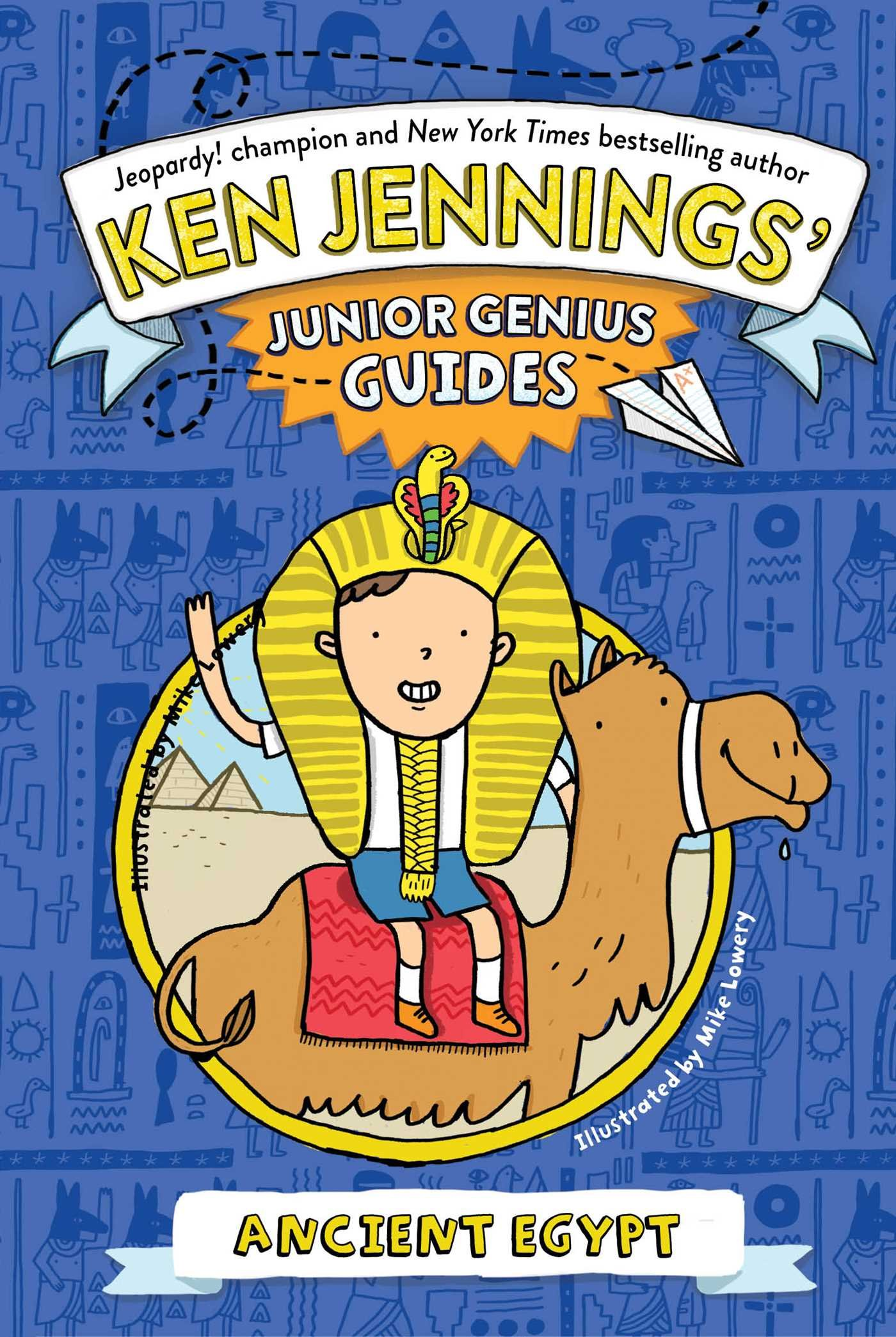 Download Ancient Egypt (Ken Jennings' Junior Genius Guides) pdf epub