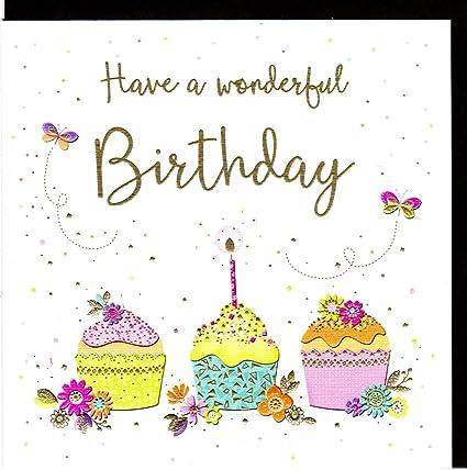 Zizi Cards Lulu tarjeta de cumpleaños Have a Wonderful ...