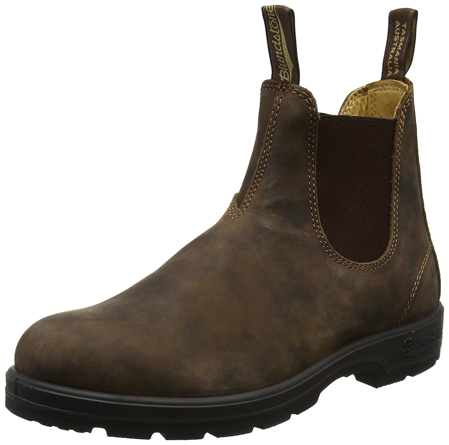 Blundstone Unisex Super 550 Series Boot B073RMWGQK 9 D(M) US|Rustic Brown