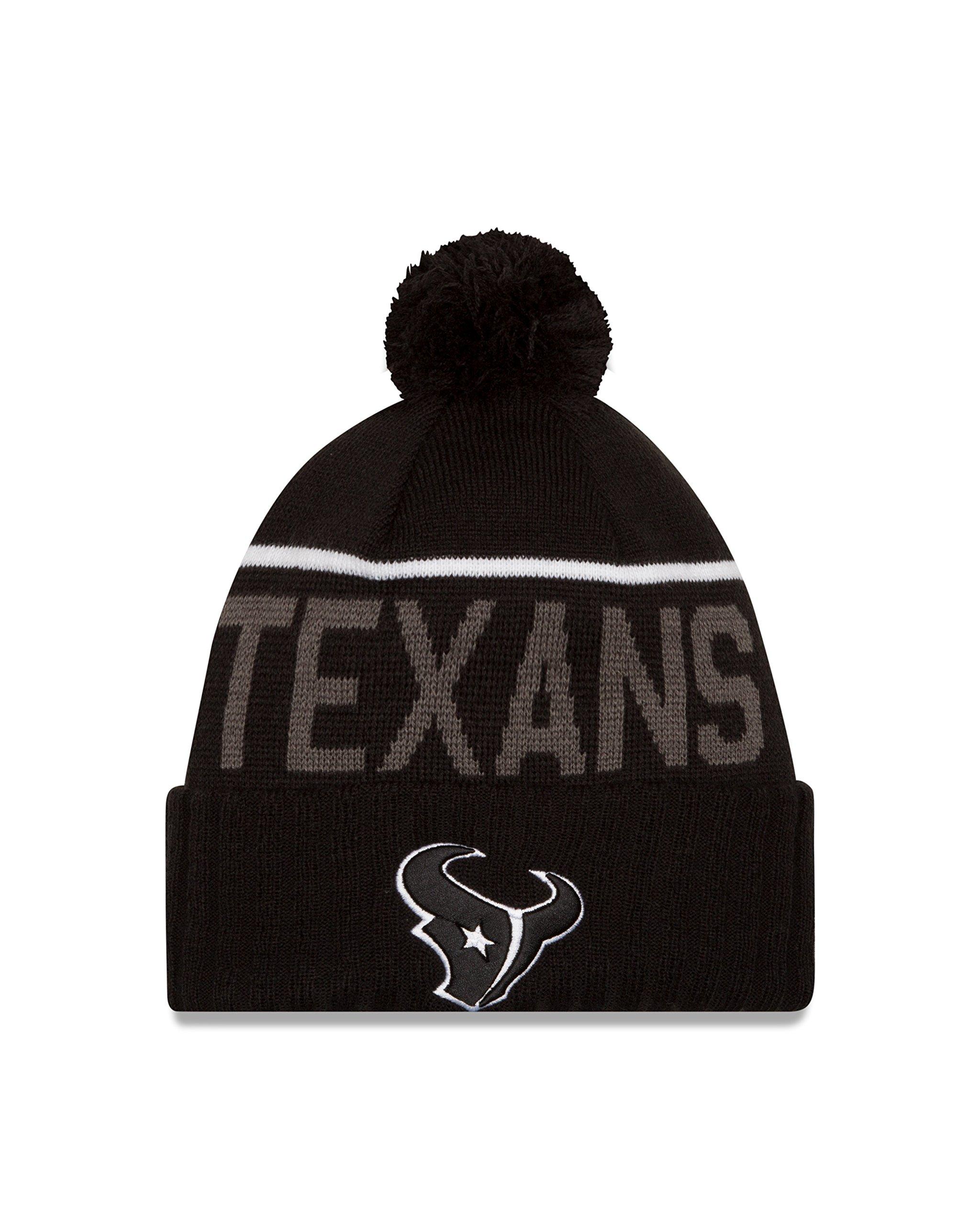 NFL Houston Texans 2015 Sport Knit, Black, One Size by New Era