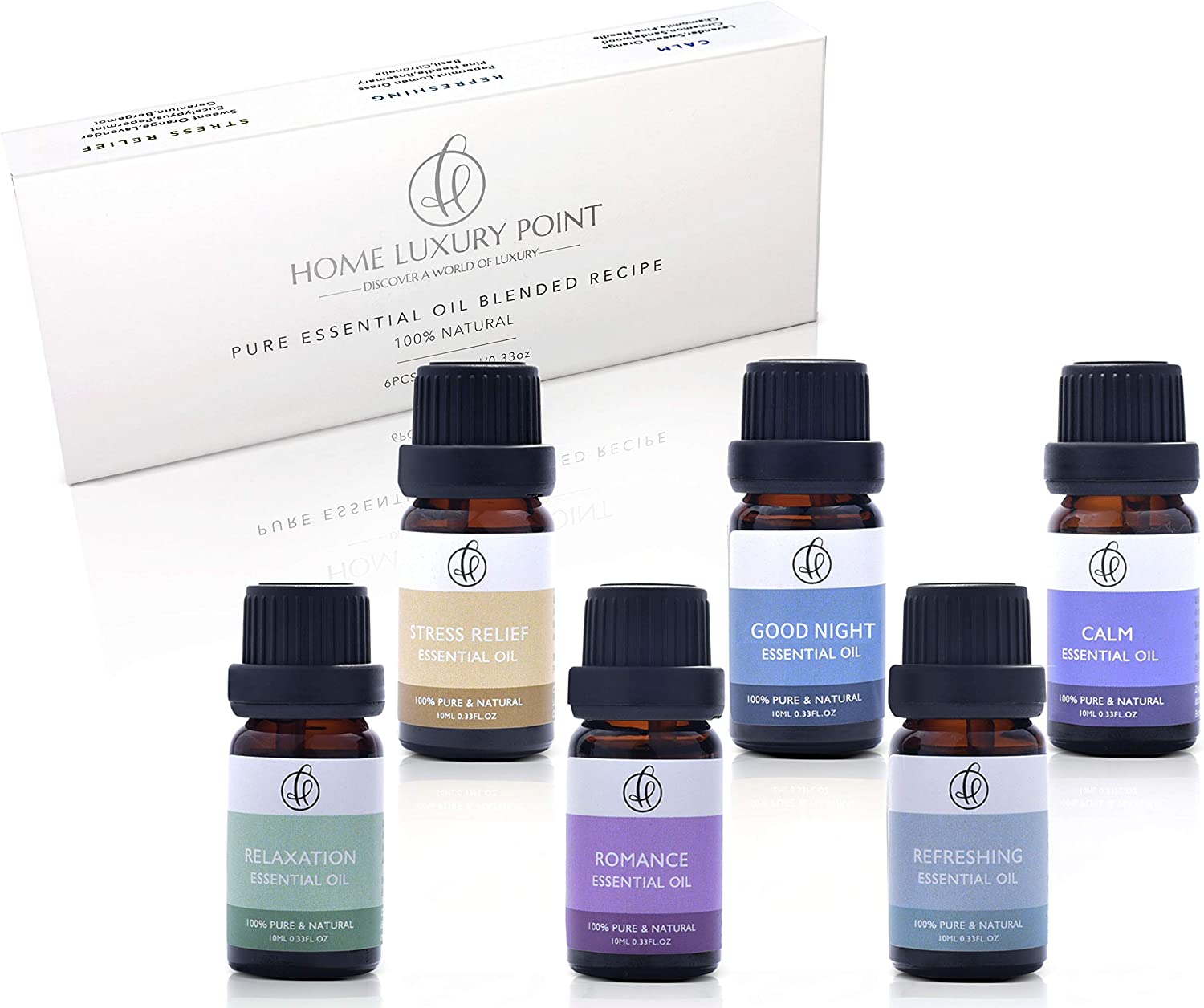 Home Luxury Point Essential Oil Blends Collection </div>             </div>   </div>       </div>     <div class=