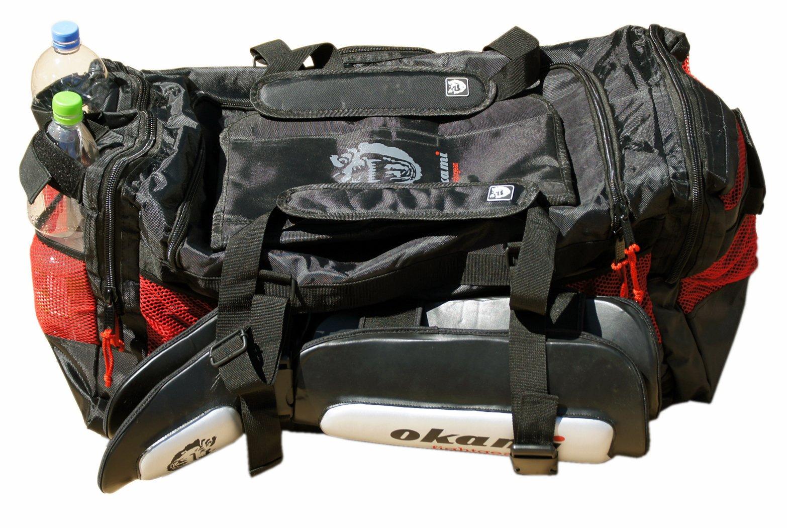 OKAMI Fight Gear Multifunctional Sports Bag - Black by OKAMI Fightgear