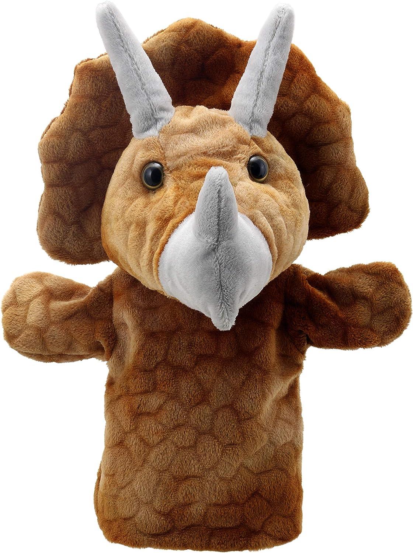 The Puppet Company Marionettenfreunde Triceratops Handpuppe