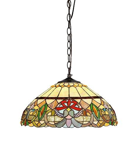 Amazon.com: Chloe iluminación ch33360vr18-dh2 Hester estilo ...