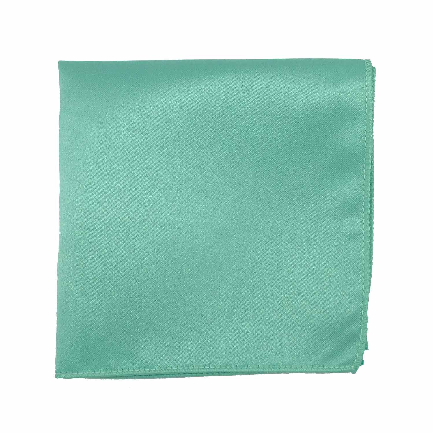 Spencer J's Satin Pocket Squares Handkerchief Boys and Mens (Mint) by Spencer J's (Image #1)