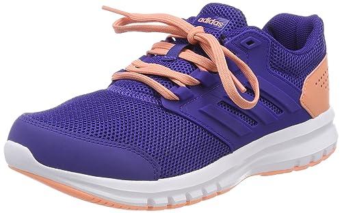 08632c136 adidas Unisex Kids  Galaxy 4 K Gymnastics Shoes  Amazon.co.uk  Shoes ...