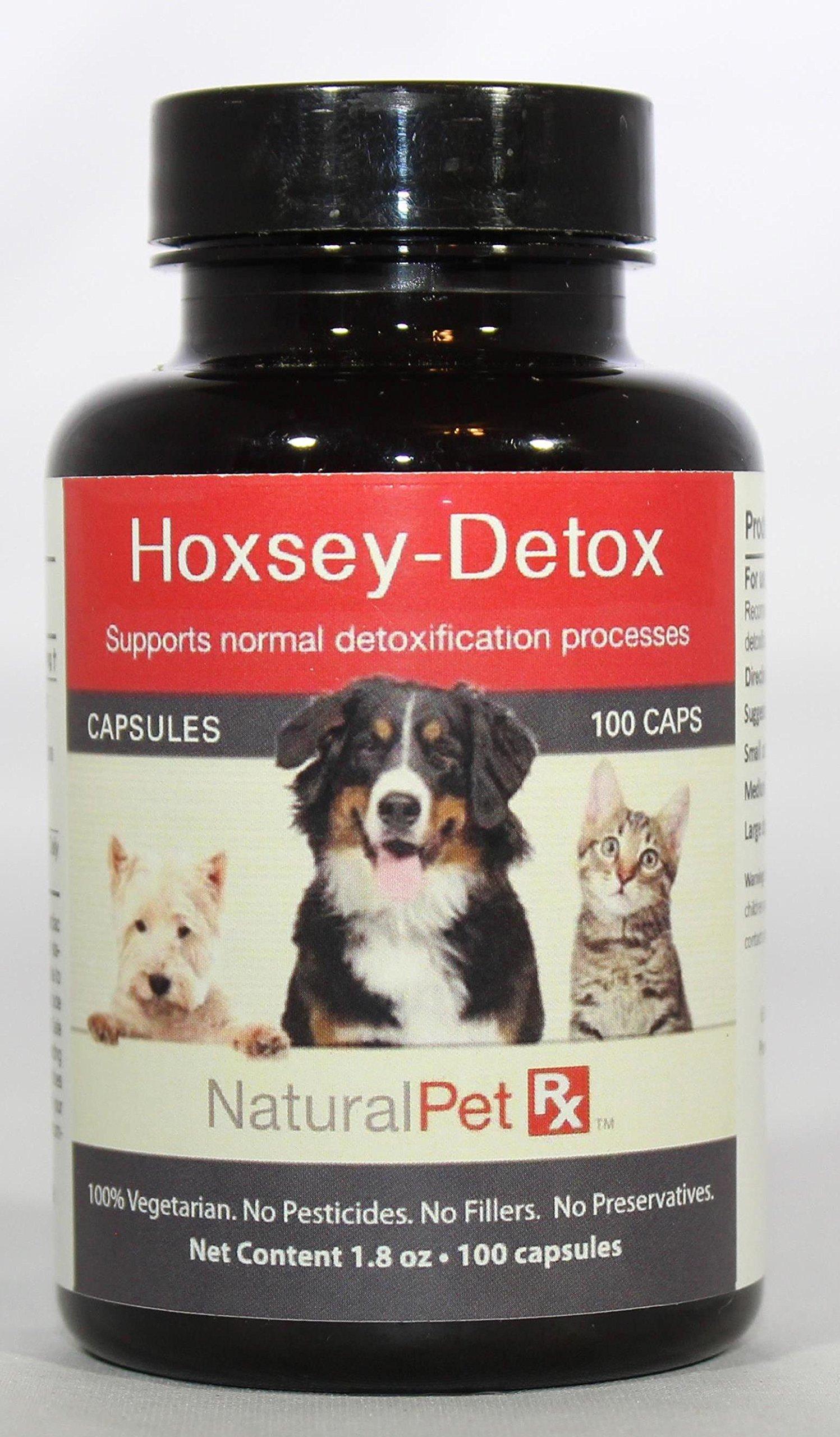 Natural Pet RX Hoxsey-Detox Detoxification Support (100 Capsules)