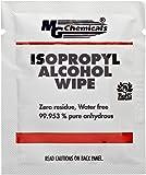 """MG Chemicals Lingette d'Alcool Isopropylique 99.9%, longueur: 6"""", Largeur 5"""", (Boîte de 50)"""