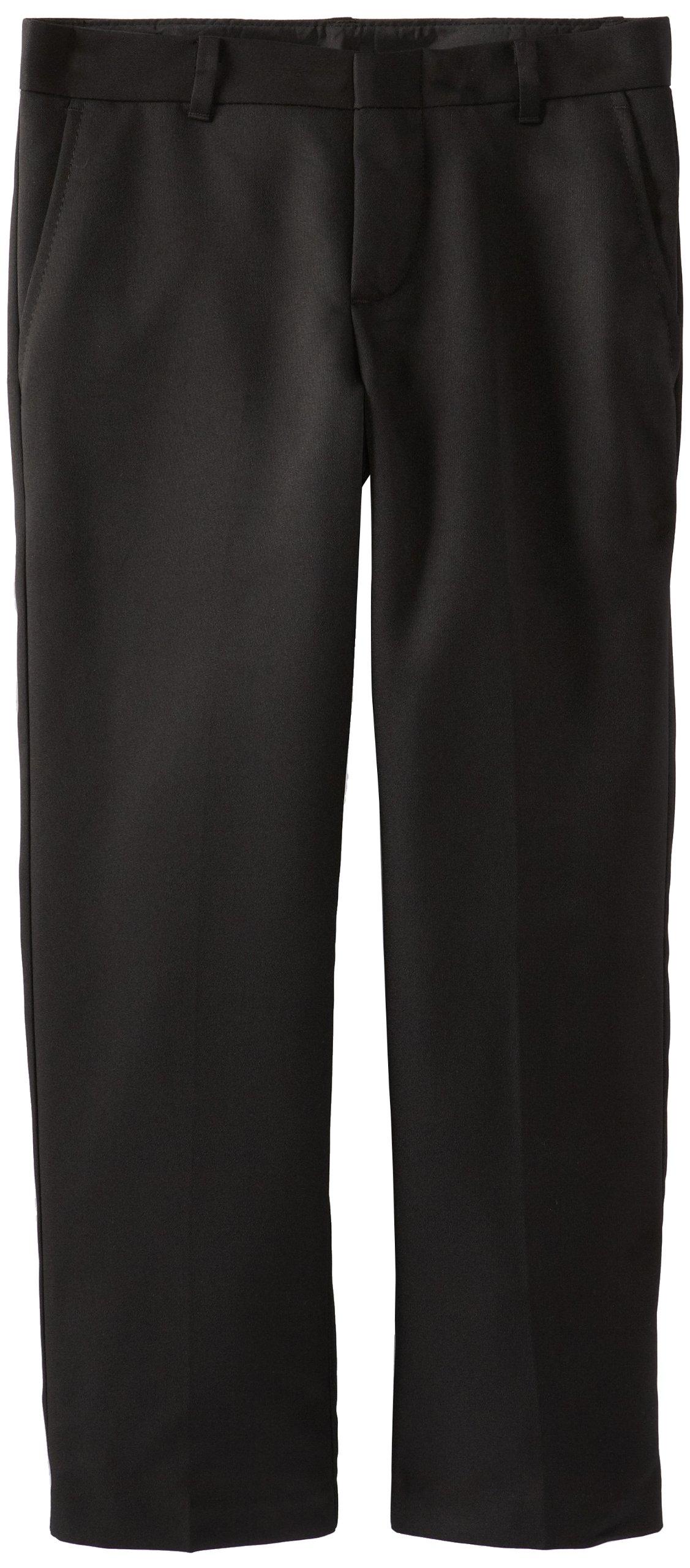 IZOD Big Boys' Micro Fiber Pant, Black, 18