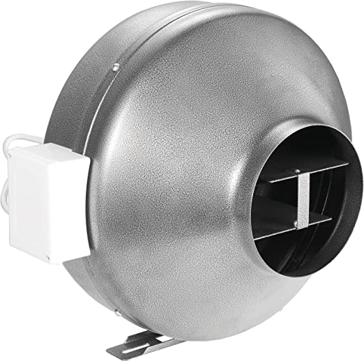Inline Vent Fans For Bathrooms : Ipower inch cfm duct inline fan vent blower for