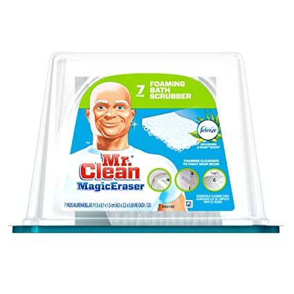 Amazon Com Mr Clean Magic Eraser Bathtub Cleaner Scrubber Sponge