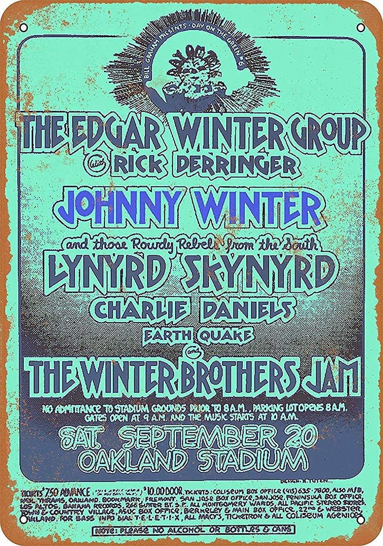 Toddrick Edgar & Johnny Winter Lynyrdkynyrd In Oakland Tin Chic ...