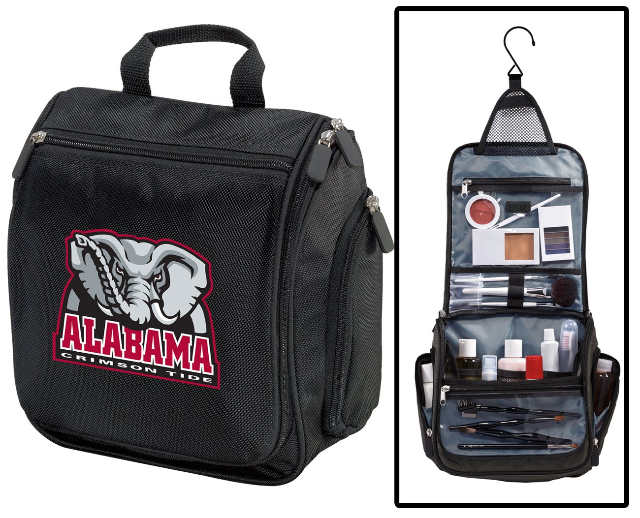 Alabama Toiletry Bags Or Hanging University of Alabama Shaving Kits Broad Bay