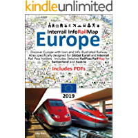 Interrail InfoRailMap Europe 2019: Discover the whole of Europe with InfoRailMap - Specifically designed for Interrail and Eurail Rail Pass Holders