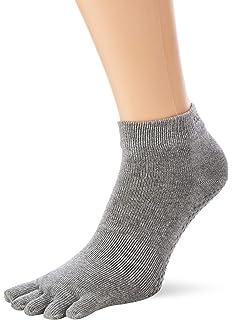 Pilates Toesox Damen Womens Low Rise Half Grip Non-Slip for Ballet m Barre Toe Socks Yoga Fate