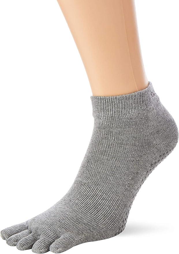 ToeSox Bellarina Five Toe Half Toe Grippy Non-Slip Socks Barre Pilates Yoga Sock