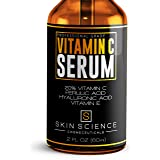 Skin Science Organic Vegan Vitamin C Serum for Face, 2 oz