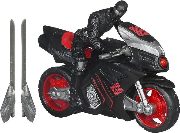 GIJoe Retaliation Ninja Speed Cycle Vehicle with Snake Eyes Figure