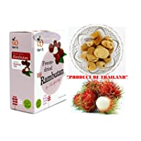 Crispy Freeze dried Fruit Rambutan Sweet And Sour Healthy Snack 100% all Natural...