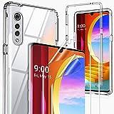 GESMA for LG Velvet Case, [1 Case+2 Screen Protector][NOT Fit with Verizon LG Velvet 5G UW] Full Body Case with Flexible…