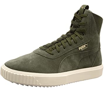 ebb2e142027 Puma Breaker Hi Evolution Sneaker Forest Night-Whisper White 7.5