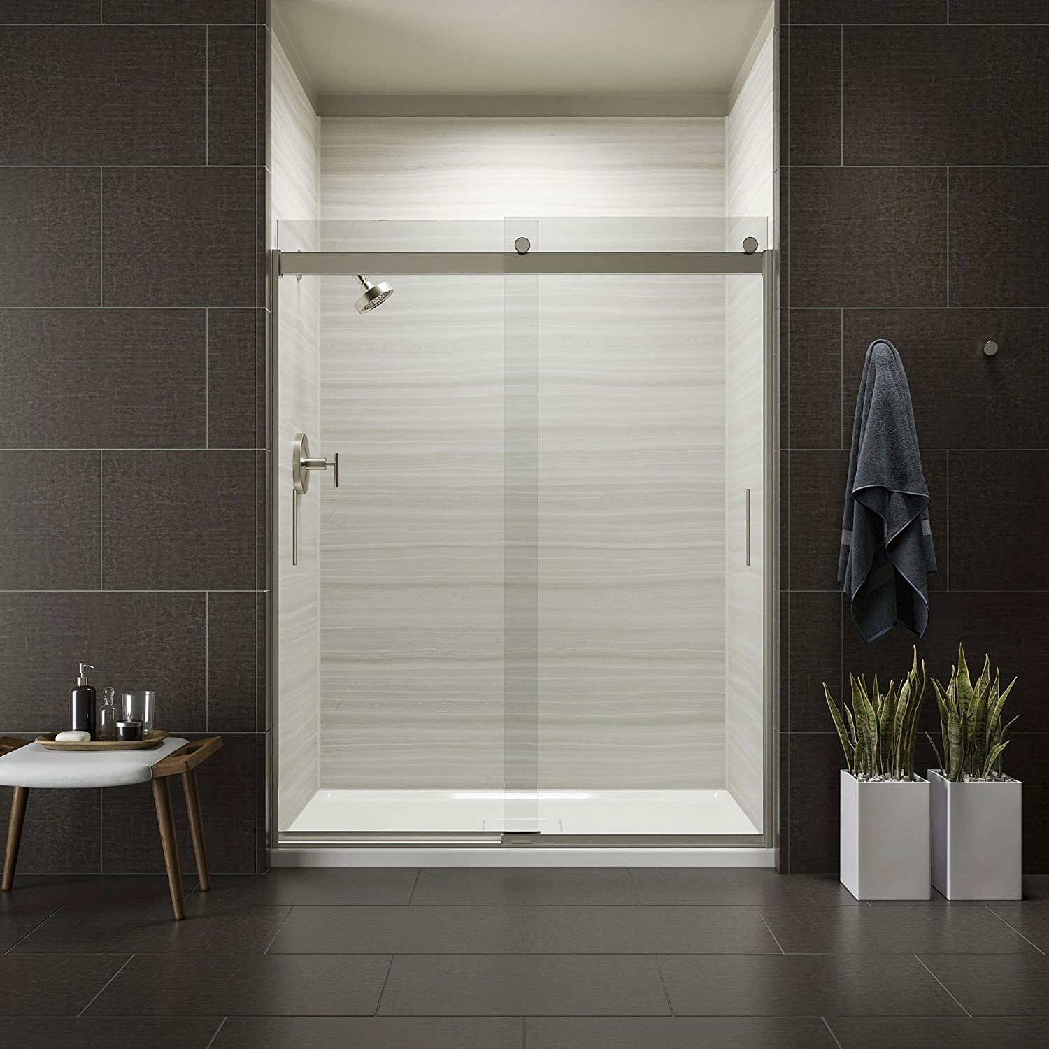 Kohler K 706009 L Mx Levity Bypass Shower Door With Handle And 14