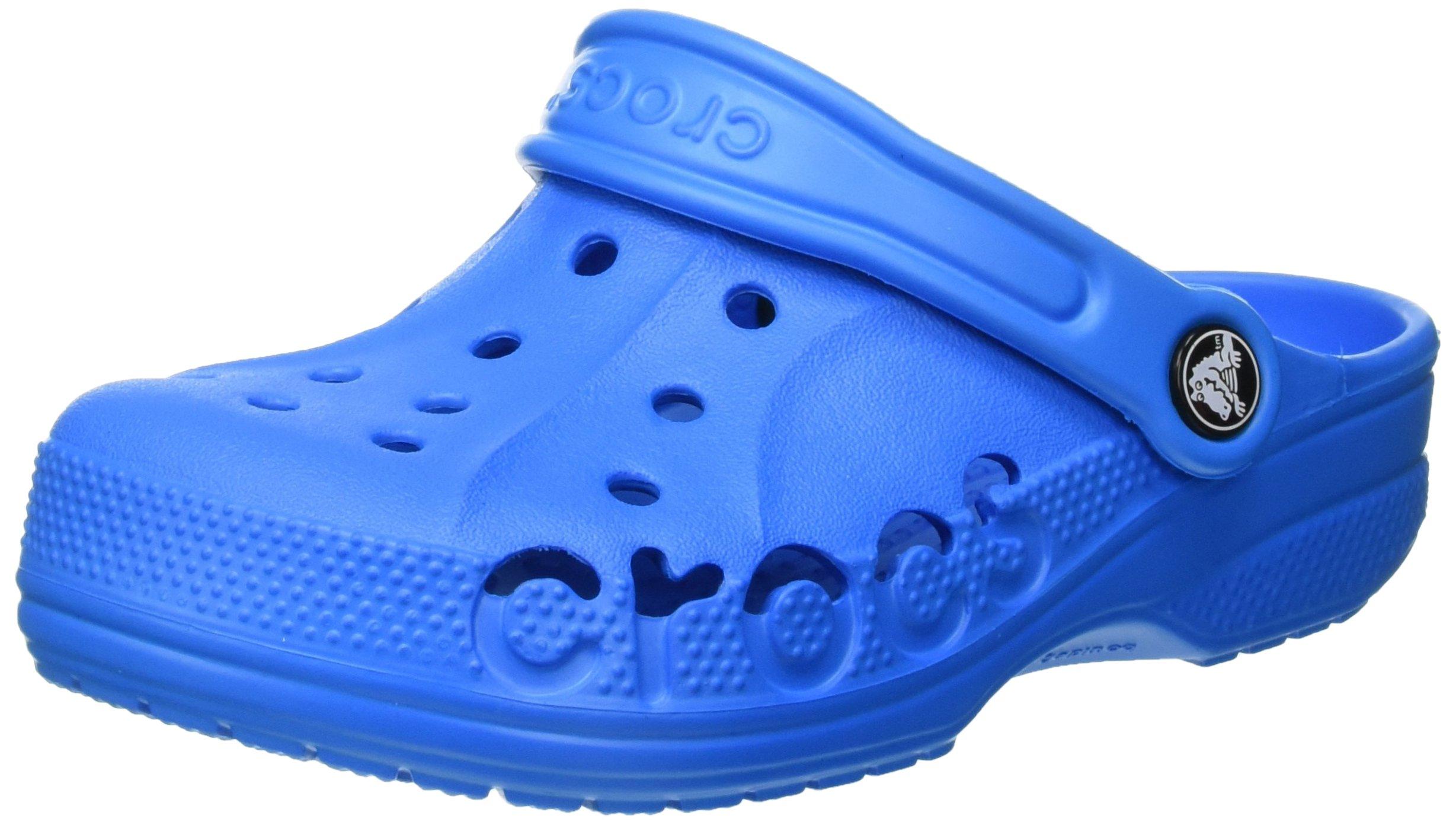 Crocs Kids' Baya 10190 Clog, Ocean, 8-9 M US Toddler